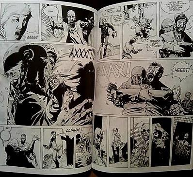 Воскресный обзор: «ходячие мертвецы», тома 1, Два и Три