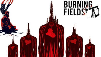 Обзор комикса burning fields