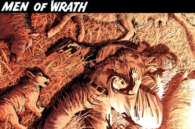 Обзор комикса men of wrath