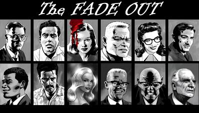 Обзор комикса the fade out