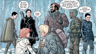 Обзор комикса «we stand on guard»