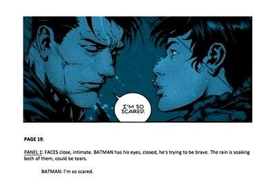 Как устроен рабочий процесс сценариста «бэтмена»?