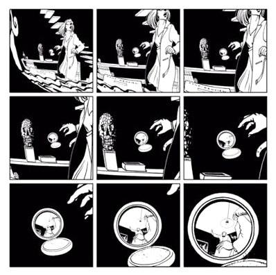 Черно-белые фантазии марка-антуана матье  комикстрейд