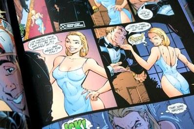 Absolute danger girl  комикстрейд