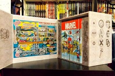 Marvel famous firsts: 75th anniversary masterworks slipcase set  комикстрейд