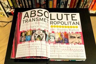 Absolute transmetropolitan vol. Один  комикстрейд