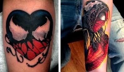 Татуировки с супергероями (50 фото). крутые татуировки по комиксам марвел: человек-паук, железный человек, дэдпул, стражи галактики, тор и локи, капитан америка