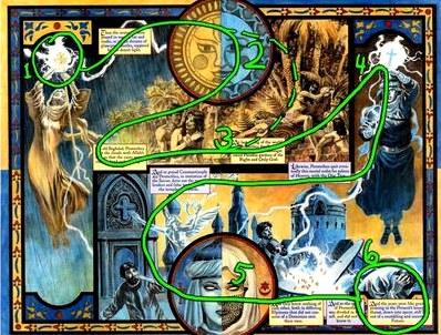 Визуальный анализ: promethea  комикстрейд